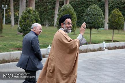 حاشیه جلسه هیات دولت - ۸ اسفند ۱۳۹۷