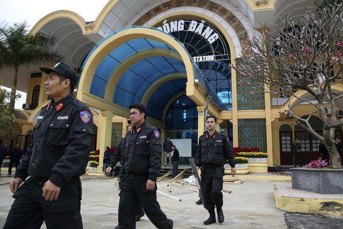 ایستگاه راه آهن دونگ دانگ در مرز ویتنام-چین بسته شد