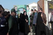 اعزام دانش آموزان شهرستان شفت جهت بازدید از مناطق جنگی