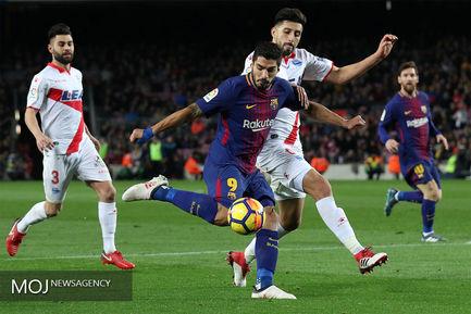 دیدار تیم های فوتبال بارسلونا و آلاوز