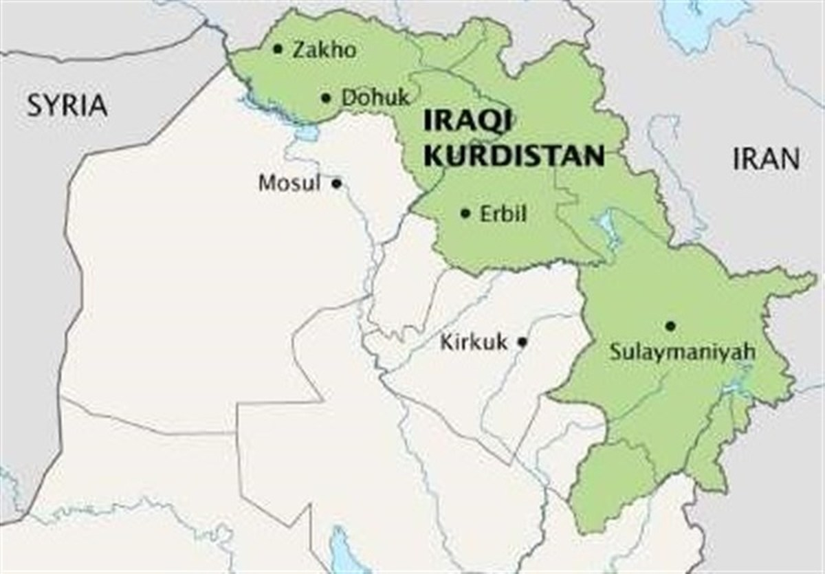 مقر احزاب در کردستان عراق به آتش کشیده شد