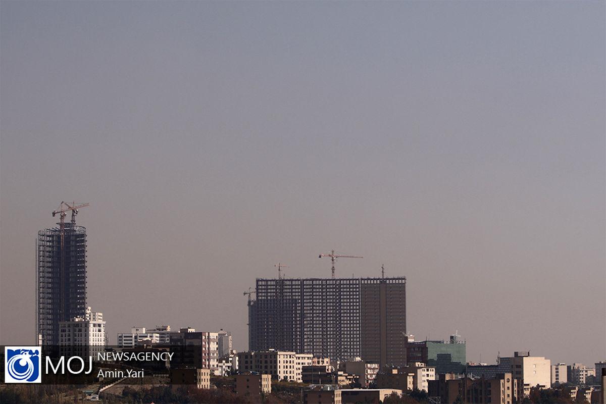 کیفیت هوای تهران ۱۷ دی ۹۹ /شاخص کیفیت هوا به ۱۱۸ رسید