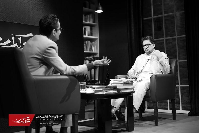 حسین کچویان در برنامه تلویزیونی شوکران
