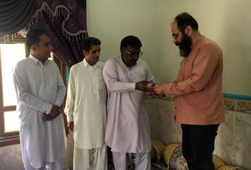 غلامرضا طریقی حقالزحمه خود از جشنواره شعر فجر را به آسیبدیدگان سیل سیستان اهدا کرد