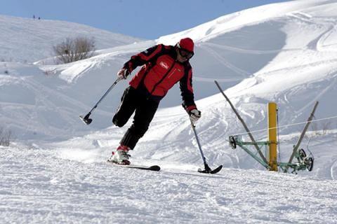 اعزام 5 اسکی باز معلول کشور برای شرکت در بازیهای پارالمپیک زمستانی