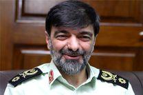 هشدار سردار رادان به دشمنان مردم ایران و عاملان حادثه تروریستی اهواز