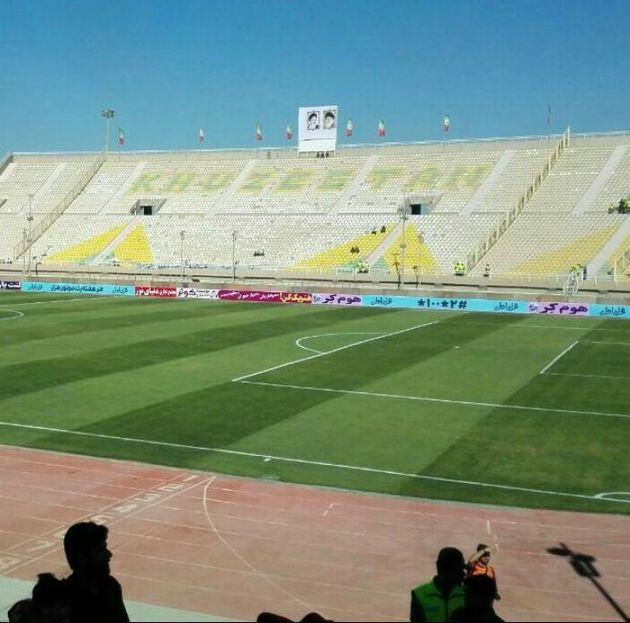 وزارت ورزش و جوانان 310 میلیون تومان برای نوسازی سکوهای ورزشگاه شهید وطنی اختصاص داد