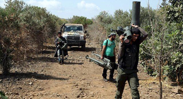 وقوع درگیری های خشونت آمیز میان گروههای شورشی سوری در ادلب