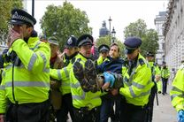 بازداشت بیش از 200 نفر در تظاهرات فعالان آب و هوایی در لندن