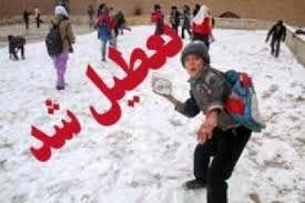 تمام مدارس مقاطع تحصیلی در سمیرم به دلیل یخ زدگی تعطیل است