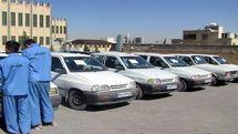 دستگیری 2 سارق خودرو در اصفهان / کشف 31 دستگاه خودروی پراید مسروقه