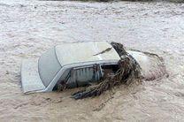 امدادرسانی هلال احمر نایین به 15 دستگاه خودرو گرفتار در سیل