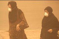 خیزش گرد و خاک در چهار استان کشور