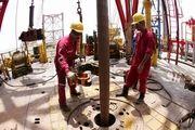 آتشسوزی در یک حلقه چاه نفت در موصل عراق