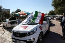 آغاز مسابقه رالی اتومبیلرانی کریدور بین المللی از بندرعباس