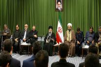 جمعی از شاعران مذهبی کشور با رهبر انقلاب دیدار کردند