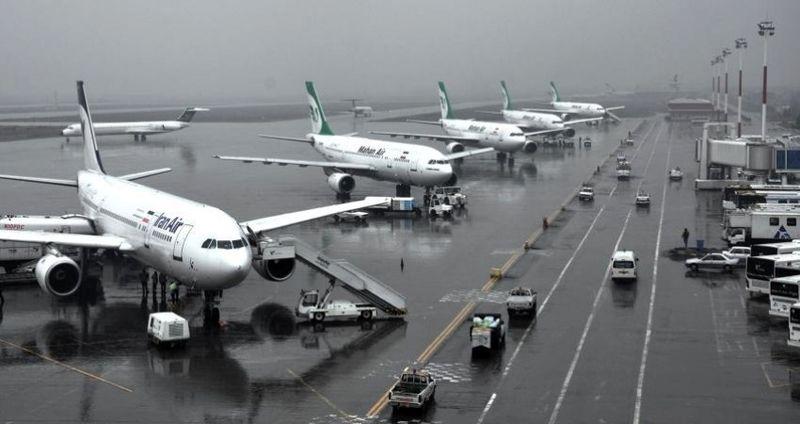 پروازهای مشهد به تاخیر افتاد