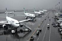پرواز ها طبق ساعت مندرج در بلیت انجام می شوند