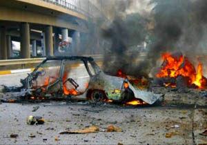انفجار یک خودروی بمبگذاری شده در شهر دمشق
