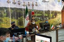 دیدار و گفتگو فرمانده هوانیروز ارتش عراق با امیر سرتیپ قربانی