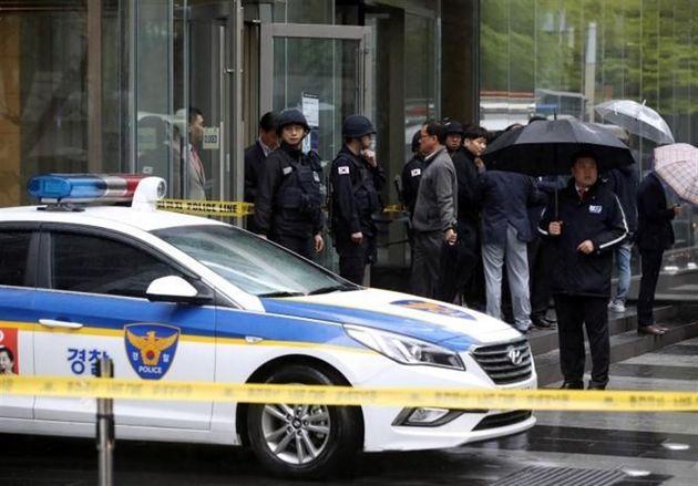تخلیه ساختمان سامسونگ در سئول بهدلیل احتمال وجود بمب