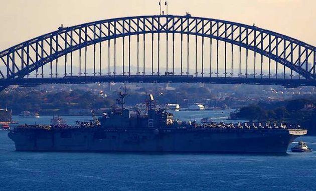 آمریکا و استرالیا بزرگترین مانور نظامی مشترک خود را آغاز کردند