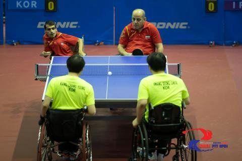 تیم ملی تنیس روی میز معلولان راهی چین می شود