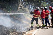آتش سوزی گسترده در مرکز پرتغال