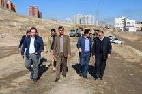 عملیات احداث بلوار 30 متری دگایران سنندج آغاز شد