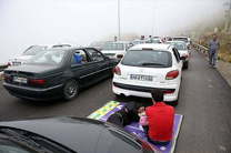 ترافیک در محورهای هراز و فیروزکوه و نیز محور امام رضا(ع) به سمت تهران دارای بار ترافیکی پر حجم اما روان است