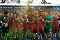 پیام تبریک شیخ سلمان به مناسبت قهرمانی فوتبال ساحلی ایران
