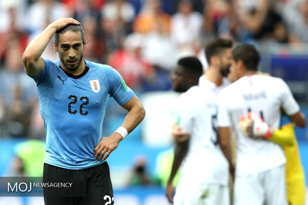 جام جهانی فوتبال - دیدار تیم های فرانسه و اروگوئه