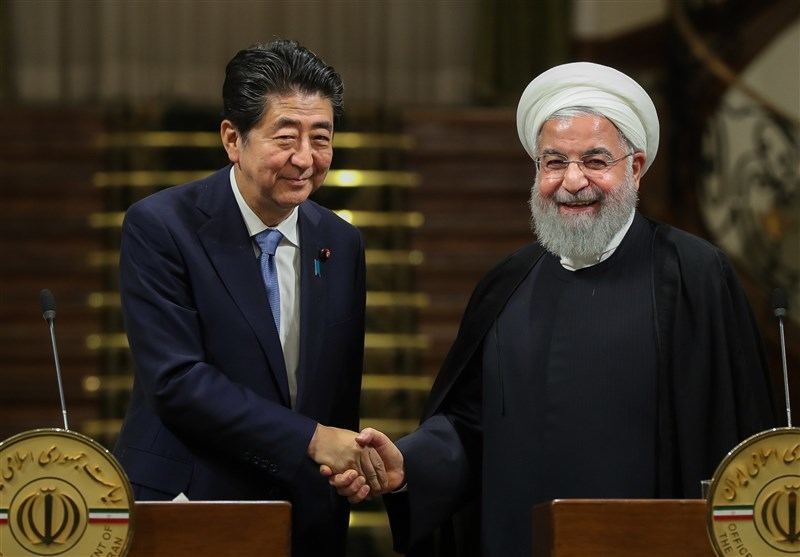 شینزو آبه با رئیس جمهور کشورمان دیدار می کند