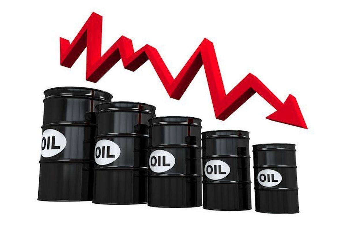 سقوط ۴ درصدی قیمت نفت در پی تقاضای ضعیف برای طلای سیاه