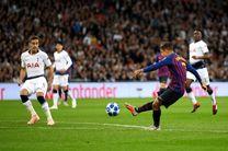 ساعت بازی بارسلونا و تاتنهام مشخص شد