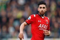 بازیکنان برتر هفته بیستم لیگ هلند اعلام شدند/ نام علیرضا جهانبخش در بین این نفرات