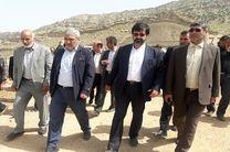راهداری اردبیل در ساخت و ساز مناطق سیل زده لرستان مشارکت می کند