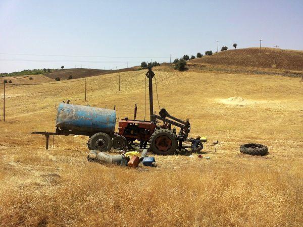 یک دستگاه غیرمجاز حفاری چاه توقیف شد