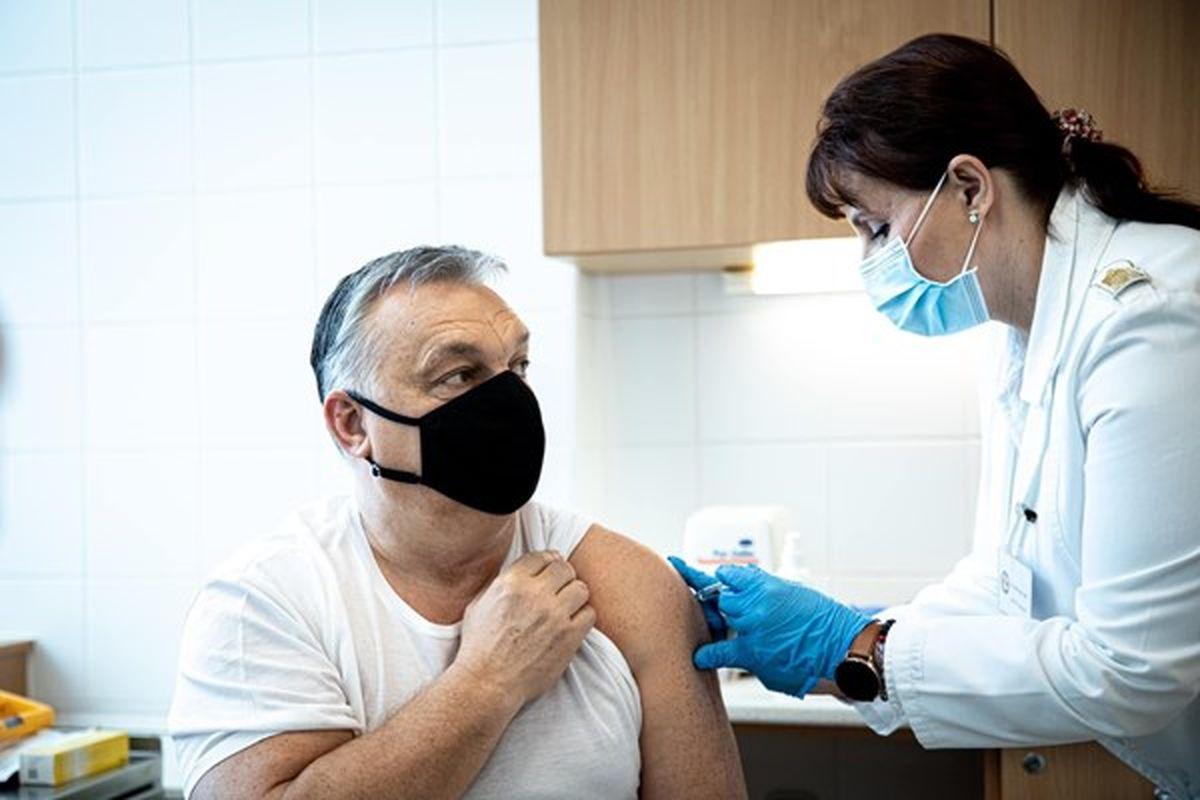 نخستوزیر مجارستان، واکسن «سینوفارم» چین تزریق کرد