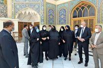 بازدید وزیر امور خارجه بوسنی و هرزگوین از حرم حضرت معصومه(س)