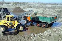 برداشت غیرمجاز در بستر رودخانه مرغک شاندرمن متوقف شد