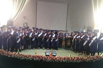 [جشن فارغ التحصیلی 80 دانش آموخته رشته پزشکی دانشگاه علوم پزشکی گیلان در رشت برگزار شد