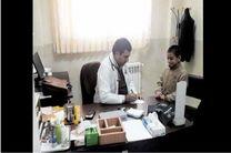 ارائه خدمات پزشکی و بهداشتی بسیج سازندگی پایگاه سلامت فولاد مبارکه به مناطق محروم