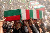 پیکر شهید «حمیدرضا رحیمیان عینشیخ» در رودسر تشییع می شود