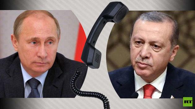 روسای جمهور ترکیه و روسیه در تماسی تلفنی درباره سوریه گفتوگو کردند