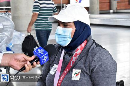 ورود دومین گروه از کاروان اعزامی به پارالمپیک