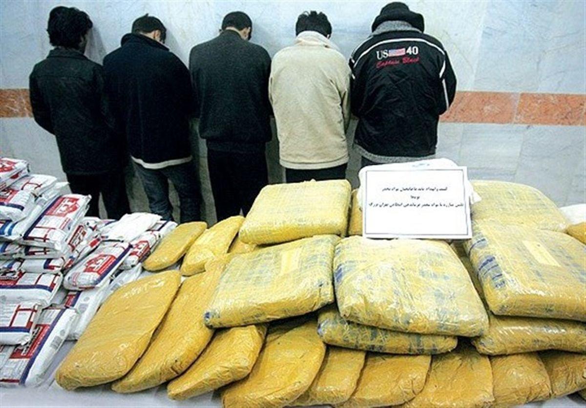 دستگیری سرباندهای  قاچاق مواد مخدر در هرمزگان