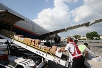 ارسال چهارمین محموله کمکهای مردمی هرمزگان به زلزله زدگان