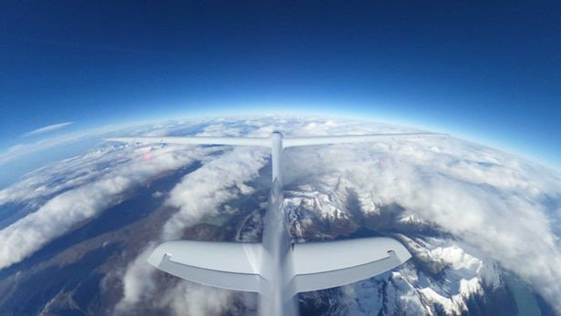 گلایدر ایرباس به دنبال شکستن رکورد ارتفاع