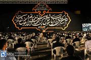 حضور فرزندان حاج قاسم سلیمانی در مراسم عزاداری امام حسین (ع)